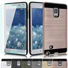 Shockproof Cover Case+Tempered Glass Protector For Samsung Galaxy Note Edge N915