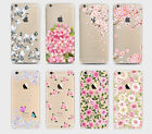 Pretty Floral Roses Flowers Vintage Retro Silicone Gel Case Iphone 4 5 6 7 8 X