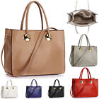 WOMEN'S OVER SIZED X LARGE TOTE BAG SHOPPER HANDBAGS COLLEGE SCHOOL SHOPPING BAG