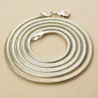 """3MM WIDTH 925 STERLING SILVER EP SNAKE CHAIN NECKLACE 18"""",  23 1/4"""" , 24"""" INCH"""