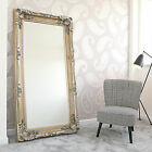 New Louis Wall Leaner Mirror Large, XL or XXL Silver Champagne French Ornate