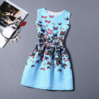 New Printing Womens Sleeveless Bodycon Casual Party Evening Cocktail Dresses