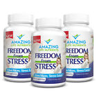 Natural Anti Anxiety Stress Relief Supplement Pills Valerian Root 60 Capsules