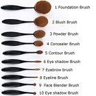 10 Pcs Fashion Toothbrush Beauty Shaped Oval Cream Puff Makeup Brushes Set F55