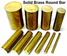CZ121 Solid Brass ROUND Bar Rod - 11 Diameters & 6 Lengths available - Milling