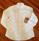 TRUE RELIGION Dress Shirt Long Sleeve RYAN Button Down White S NEW