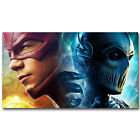 THE FLASH ZOOM Superheroes New TV Series Silk Poster 12x21 24x43inch