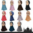 Muslim Cotton Women Inner Hijab Caps Full Cover Islamic Shawl UnderscarfHeadwra