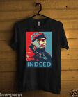 OMAR LITTLE The Wire Black T-shirt for Man Size S-2XL