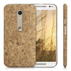 kwmobile CORK COVER FOR MOTOROLA MOTO X STYLE CASE BACK HARD NATURAL WOOD PHONE