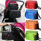 2016 Waterproof Stroller baby bag pram hanging Bag Diaper Bag bottle Cup Holder