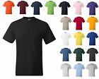 HANES BEEFY T TSHIRT WITH POCKET 12 COLORS S- 3X STARTS @$7.99 FREE SHIPPING