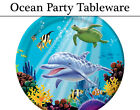 Ocean Party Tableware - Plates, Napkins, Cups & Tablecover