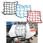 New Motorcycle 6 Hooks Hold Down Fuel Tank Luggage Net Mesh Web Bungee o4