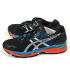 Asics Gel-Nimbus 18 Onyx/Silver/Blue Jewel Cushioning Running Shoes T600N-9993