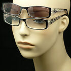 Bifocal reading glasses sunglasses new men women strength power spring hinge on eBay