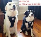 Dog Car Harness- FREE seat belt loop M, L and XL FREE POST - easy walk harness