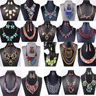 New Fashion Pendant Chain Crystal Jewelry Choker Chunky Statement Bib Necklace