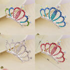 Wedding Crystal Rhinestone Princess Crown Party Hair Comb Hair Clip Head Jewelry