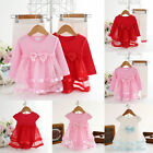 Infant Baby Girl Newborn Princess Tutu Bodysuit Romper Dress 0-12M Clothes Skirt