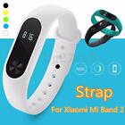 Replacement Silicone Wristband Bracelet Strap Clasp For Xiaomi Mi Band 2 Tracker