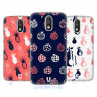 HEAD CASE DESIGNS FRUITY DOODLES HARD BACK CASE FOR MOTOROLA MOTO G4 / G4 PLUS