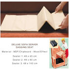 Luxury Deluxe Sofa Seat Rejuvenator Board Sagging Seat Support 1-2-3 Seater Size