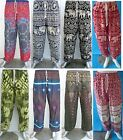 Mens & Ladies Baggy Harem Pants Aladdin Hippie Trousers Alibaba Yoga Womens New