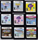 Virtual Pet Nintendo DS Games - Littlest Pet Shop - Dogz 2 - Puppy Palace + More