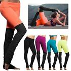 Womens Fashion Running Yoga Fitness Leggings Gym Exercise Sports Pants Trousers