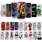 For Samsung Galaxy Phones / S7 Edge Soft Rubber Pattern TPU Silicone Case Cover