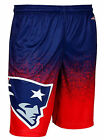 New England Patriots Men's Gradient Polyester Shorts Gym Training Workout