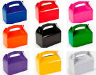 Choose a Colour - 6 Kids Treat or Party Food Lunch Boxes