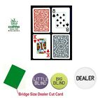 Copag™ Bridge Size 100% PLASTIC Playing Cards & Dealer Kit Texas Holdem