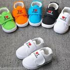 Kids Boys Girls Toddler Canvas Casual Shoes Pumps Trainers Plimsolls PAPA&MAMA