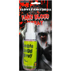 FAKE BLOOD SPRAY HALLOWEEN FANCY DRESS MAKE UP ZOMBIE VAMPIRE COSTUME ACCESSORY