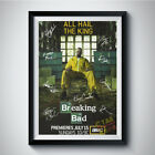 BRYAN CRANSTON BREAKING BAD Autograph Reprint Poster A4 5R WALTER MR. WHITE