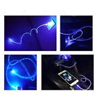 2 3FT Long led lights USB Cable Sync Data Charging Cord For Apple Iphone 6S Plus