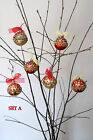 """""""BOW"""" CHRISTMAS TREE BAUBLES"""