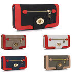 LeahWard Women's Celeb Style Purse Bag Ladies Twist Lock Wallet Coin Clutch Bags