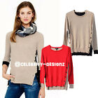 kn91 CFLB Cashmere Wool Elbow Patch Vintage Knit Sweater Indie Knitted Jumper
