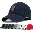 2016  Cotton Baseball Cap Sports Golf Snapback Outdoor Simple Solid Hats For Men
