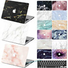 "Fine Marble Stone Rubberized Hard Case KB For Laptop Macbook Air 11""12""Pro 13""15"