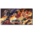 One Piece Strong World Anime Silk Poster 12x24 24x48 inch Luffy Zoro ACE