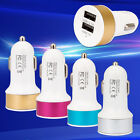 Dual USB Car Charger 2 Port Adapter Bullet For Smart Mobile Cell Phone Universal