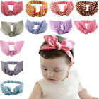 1 X Baby Bow Turban Elastic Kids Girls Hair Accessories for Party Decor EW