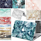 "Cool Art Marble Rubberized Hard Case Key Cover For Macbook Air 11""12""Pro 13""15"