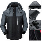 New Mens Winter Ski Warm Outdoor Sports Hiking Waterproof Jacket Parka Coats