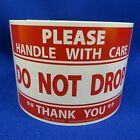 """Please Handle With Care Do Not Drop Thank You 3""""x5"""" - Packing Shipping Label"""