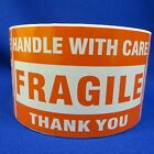 """Handle With Care Fragile Thank You 3""""x5"""" - Packing Shipping Handling Labels"""